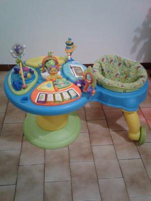 Centro De Actividades Para Niño 3 En 1 Con Andadera