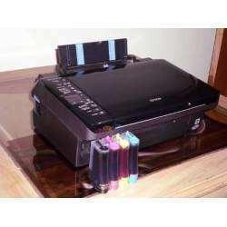 Impresora Epson Tx220 Con Sistema Continuo Y Sus Tinta