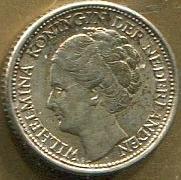Moneda Curazao 1/10 florin plata D, EF/CSC. GGGS CUR 20u