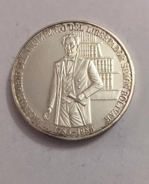 Moneda De Plata Coleccion Bicentenario Naci Simon Bolivar