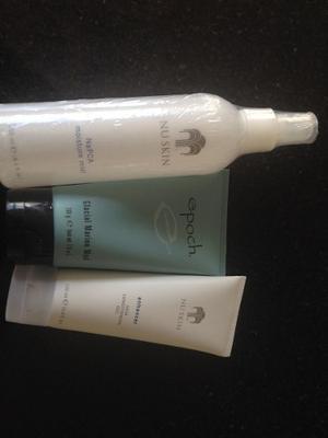 Nuskin Napca Mist + Epoch Glacial + Enhancer Nu Skin Face