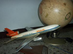 Avión Dc 10 De Al Linea Aérea Viasa Vintage