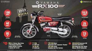 Kit De Piston Original Yamaha Rx 100 A 1mm (original)