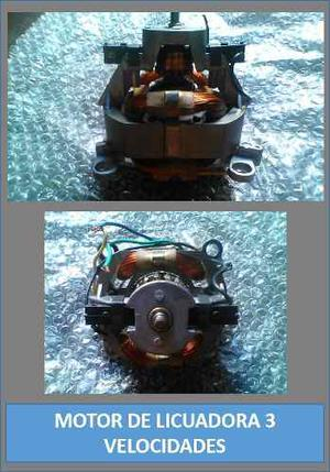 Motor De Licuadora 3 Velocidades