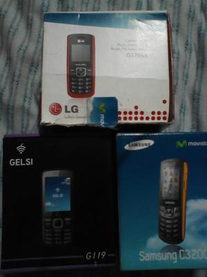 Telefonos Celulares Basicos