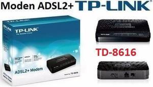 Modem Tp-link Td- Adsl2+modem Sirve Con Aba Cantv