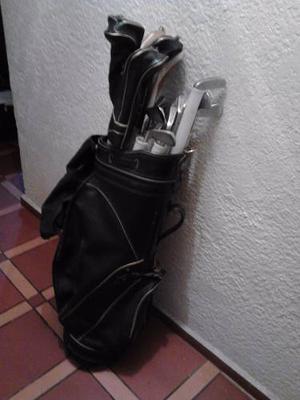 Palos De Golf Wilson Y Spalding Con Su Estuche