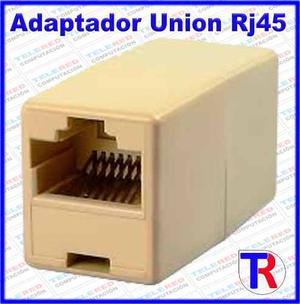 Union Rj-45 Cat5 - Adaptador Para Cable De Red Utp Lan