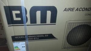 Aire Acondicionado Marca Bm Split 18 Btu Nuevo De Caja