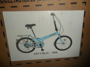 Bicicleta Marca Stareyes Rin 20
