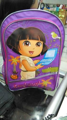 Bolso Escolar De Niña Dora La Exploradora Calidad %