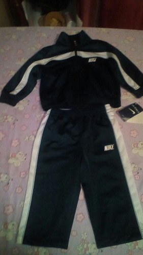 Conjunto Deportivo Para Bebe Nike Original Talla 12m
