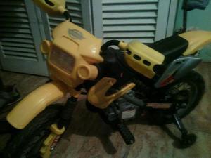 Moto Electrica Para Niño Como Nueva Marca Cute Babies