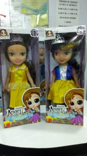 Muñecas Princesas Bebe 30 Cm