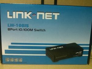 Switch Link-net De 8 Puertos