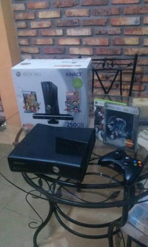 Xbox 360 Como Nuevo Con Su Control Y Juegos