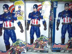 Capitan America Con Luces Y Sonido Version Era De Ultron 2