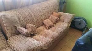 Juego De Muebles Sofa 3 Puestos + 2 Sillones