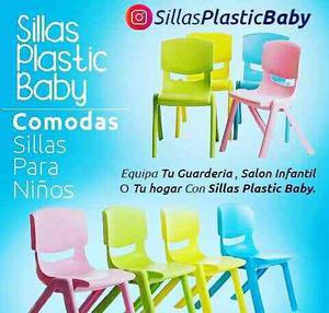 Sillas Plásticas Para Niños Niñas De Preescolar O