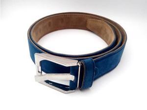 Cinturon Correas De Cuero Liso Moda Casual Caballero