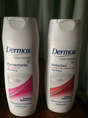 Crema Hidratante Dermox Humectante Y Antiedad 200ml