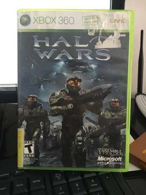 Juego De Xbox 360 Halo Wars Original Comprado En Miami