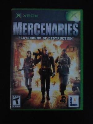 Juego Mercenaries Para Xbox 360
