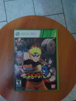 Juego Naruto Ultimate Ninja Storn 3 Para Xbox 360