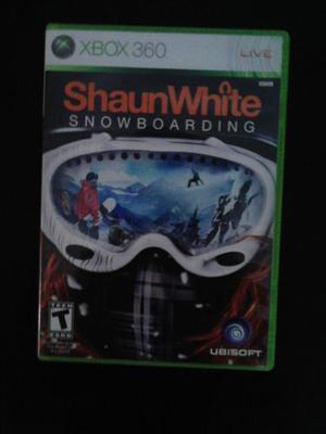 Juego Shaunwhite Para Xbox 360