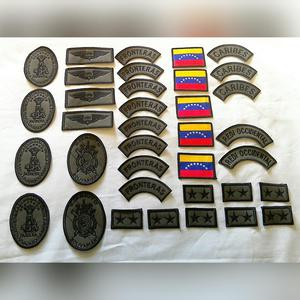 Juego de parches militares de Oficial Ejército. BORDADOS DE