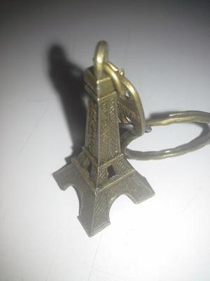 Llaveros De La Torre Eiffel Aleacion De Bronce
