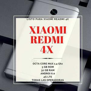 Nuevo Xiaomi 4x Max 43gb Regalo Espectacular Banda Miband2