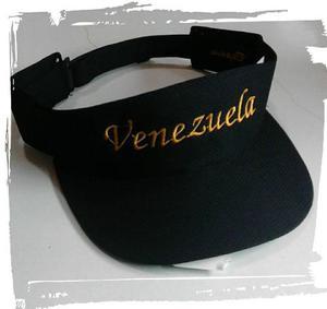 Viseras De Venezuela Bordadas