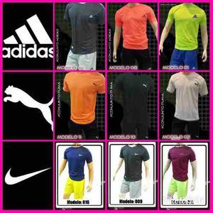 Conjunto Para Caballero Nike adidas Puma