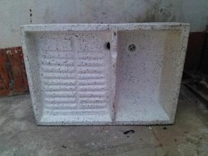 Lavadero de 60x40 gris posot class for Lavadero de granito