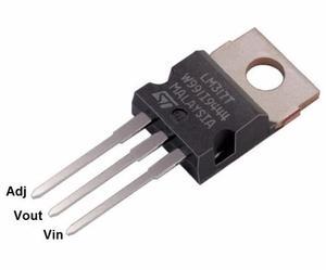 Lm317t Regulador De Voltage Ajustable 1.25 A 37v 1.5a