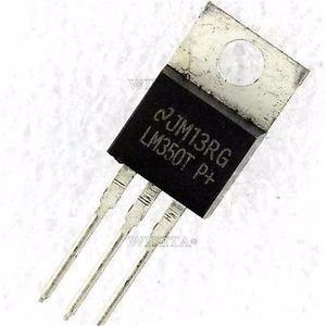 Lm350t Regulador De Voltage Ajustable 1.2 V To 33 V Y 3a