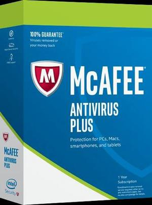 Mcafee Antivirus Plus  Licencia Original