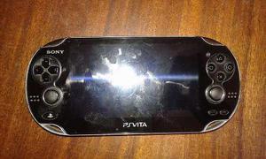 Sony Psvita Con Memoria De 8gb Sin Cargador Detalle Jostick