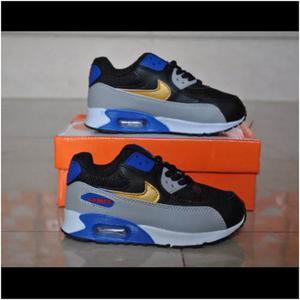 Zapatos Nike Air Max 90 Para Niños Niñas 25 Al 35