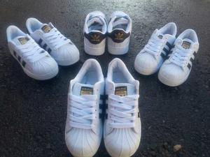 Zapatos adidas Super Star Niñas Niños