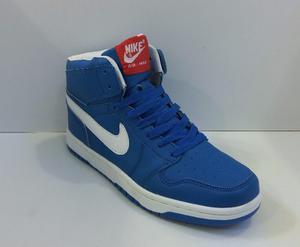 Zpt Botas Nike Air Max Caballeros. Tallas . Azul.