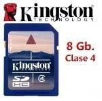 Memoria Kingston De 8 Gb Clase 4