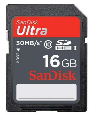 Memoria Sd Sandisk De 16 Gb