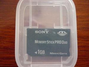 Memory Stick Pro Duo De 1gb Sony Original