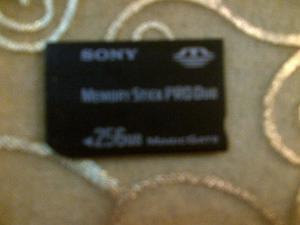 Memory Stick Pro Duo Sony De 256 Mb