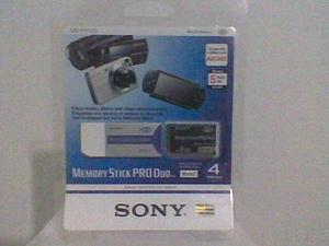 Sony Memory Stick Pro Duo Mark2 De 4gb Nueva En Su Empaque