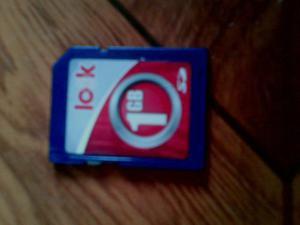 Vendo Tarjeta De Memoria Marca Look Tipo Sd De 1gb (usada)