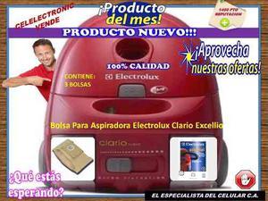 Bolsa Aspiradora Electrolux Clario Excellio Celelectronic