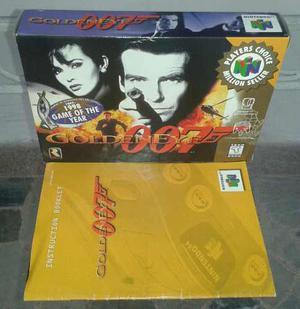 Caja Vacía Del Juego 007 Nintendo 64